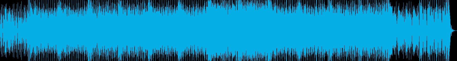爽やかで疾走感があり耳に残るBGMの再生済みの波形