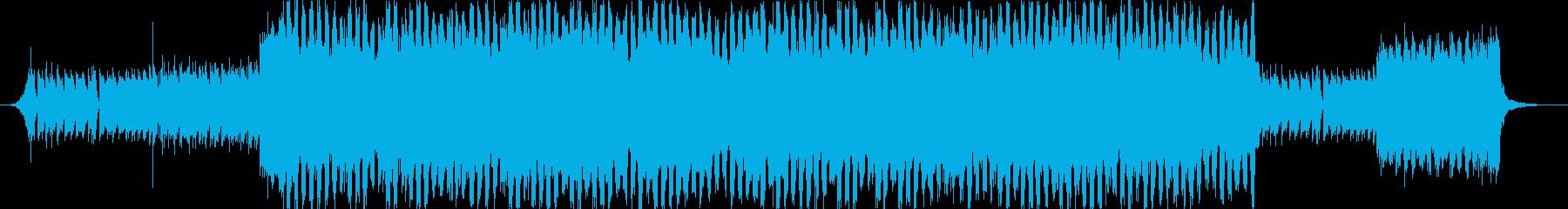 ジャジーなピアノおしゃれポップ4つ打ちbの再生済みの波形