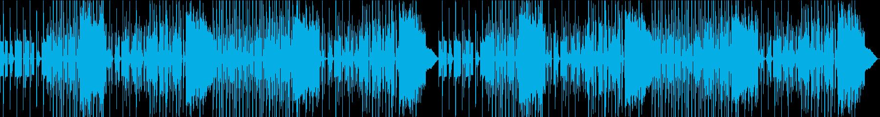 上品で遊び心のあるヒップホップ風BGMの再生済みの波形