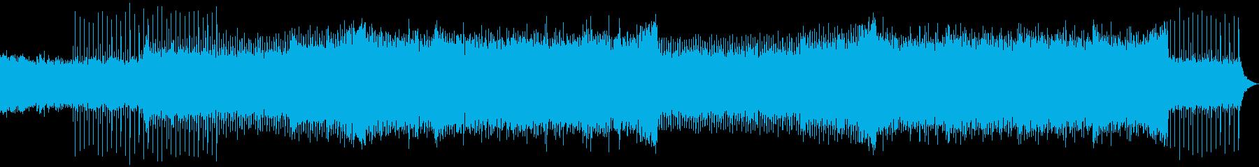 爽やか・疾走感・EDM・CMの再生済みの波形