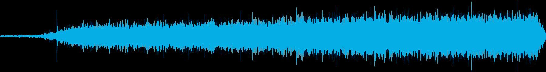 水の消火剤の噴出; DIGIFFE...の再生済みの波形
