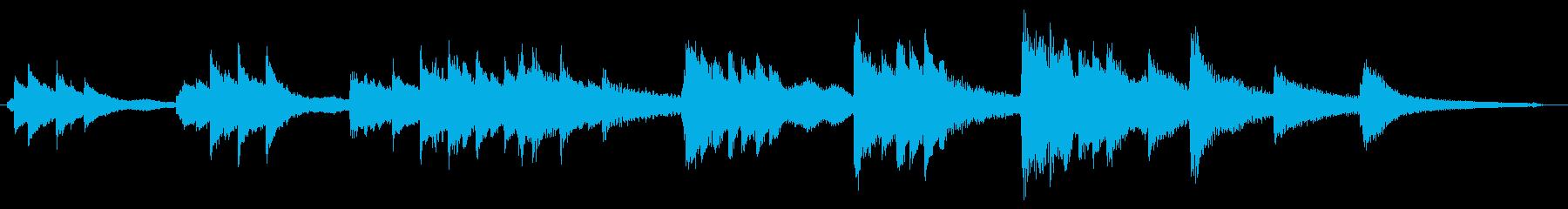 気だるいバラードピアノソロ 30秒版の再生済みの波形