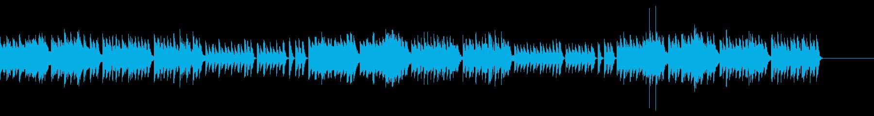 おとぎの国の雰囲気のBGM(シンセ版)の再生済みの波形