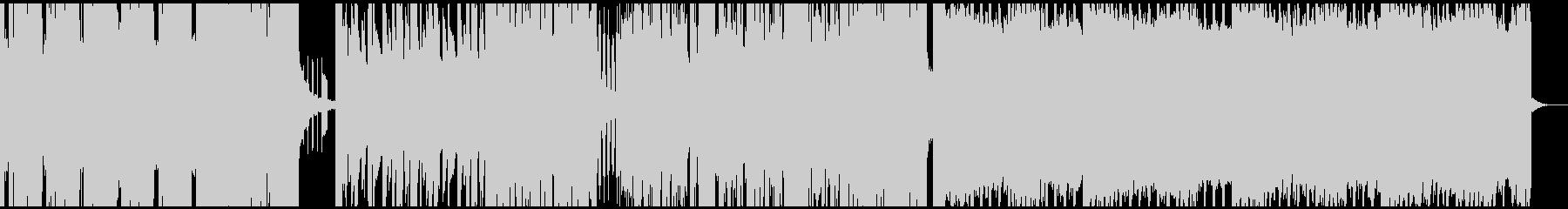 loop使用のdubstepの未再生の波形