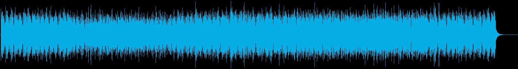 暑い砂漠をイメージしたゲームBGMの再生済みの波形