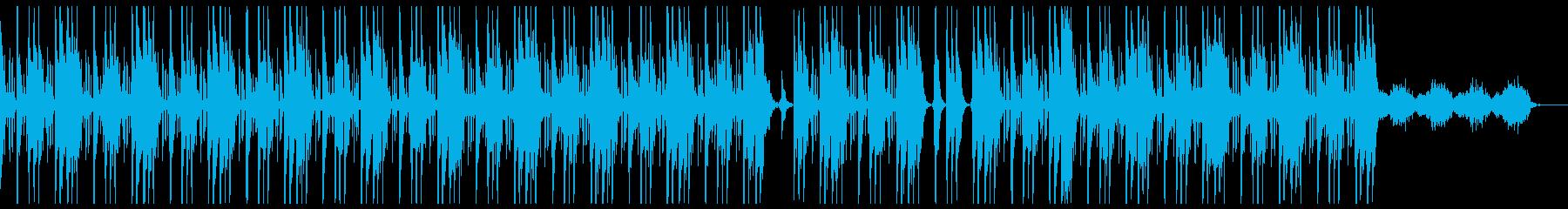 ダーク 洋楽 トラップビート クールの再生済みの波形