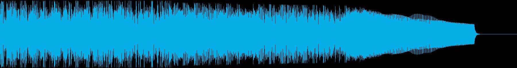 カントリー風ギターイントロ−06Hの再生済みの波形