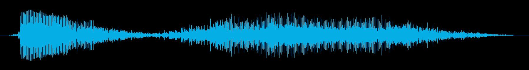 おっは~(眠たい)の再生済みの波形