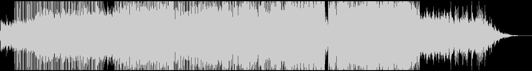 DAYBREAKの未再生の波形