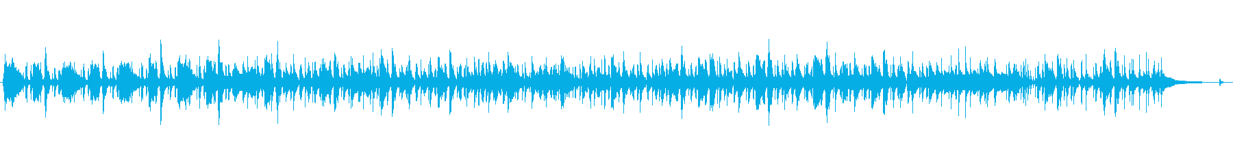60's pops テイクアウト用BGMの再生済みの波形