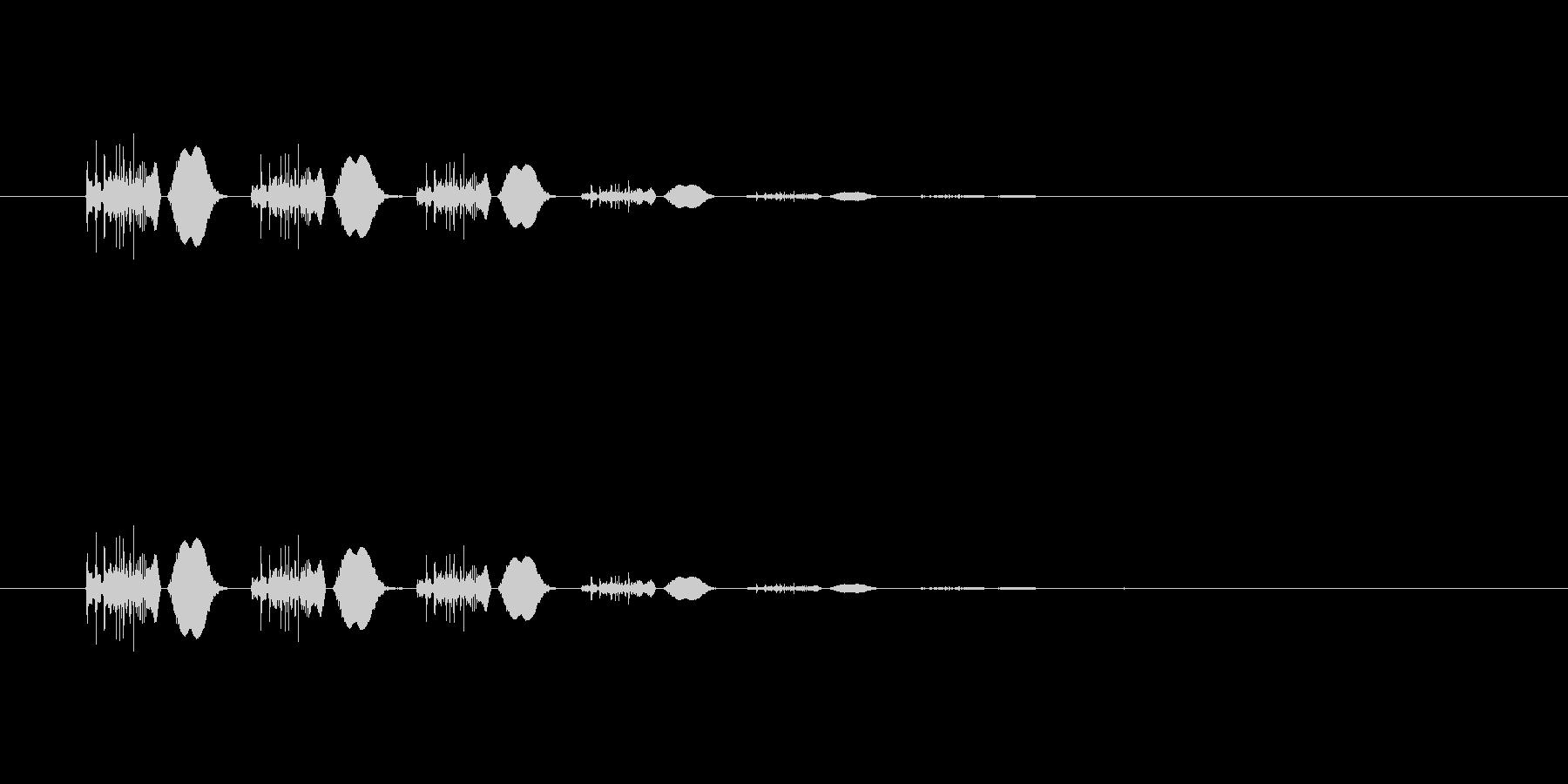 【ポップモーション36-4】の未再生の波形