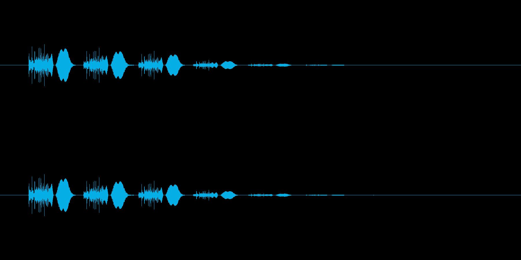 【ポップモーション36-4】の再生済みの波形