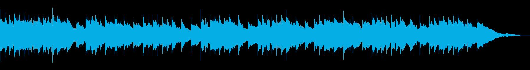 せつなく可愛いほんわかオルゴールの再生済みの波形