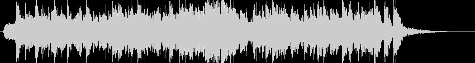和風オーケストラCM企業VPオープニングの未再生の波形