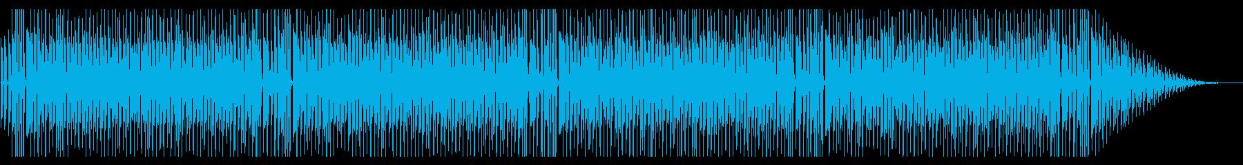 かわいい 軽快 コミカル ほのぼのの再生済みの波形