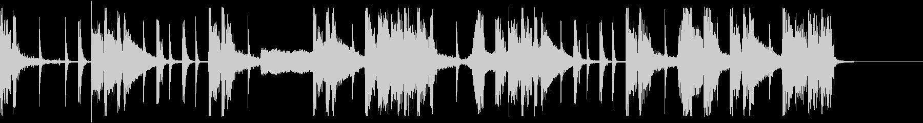 大人なエレクトロポップの未再生の波形