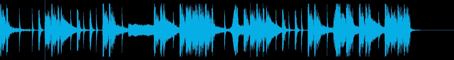 大人なエレクトロポップの再生済みの波形