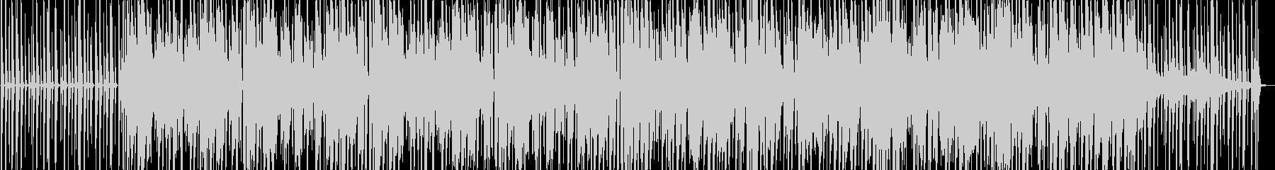 オーガニックなジャズヒップホップの未再生の波形