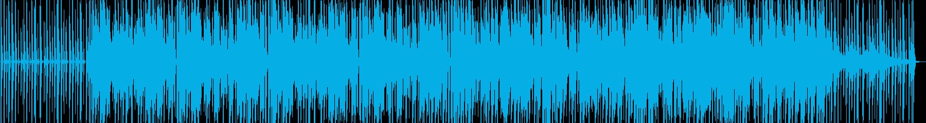 オーガニックなジャズヒップホップの再生済みの波形
