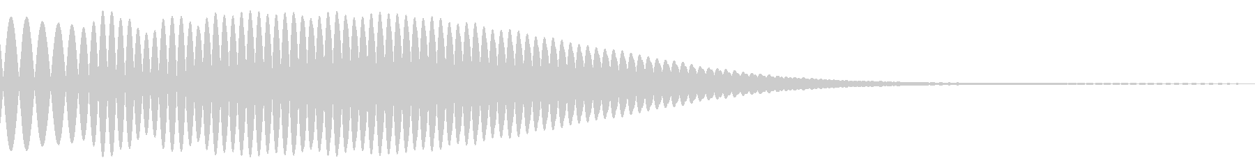 Ponu (a gentle sound without a round treogle)'s unreproduced waveform