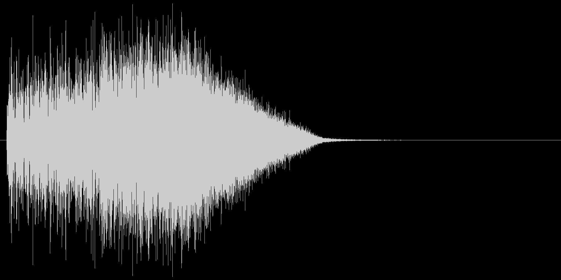 【効果音】フーシュ_上昇の未再生の波形