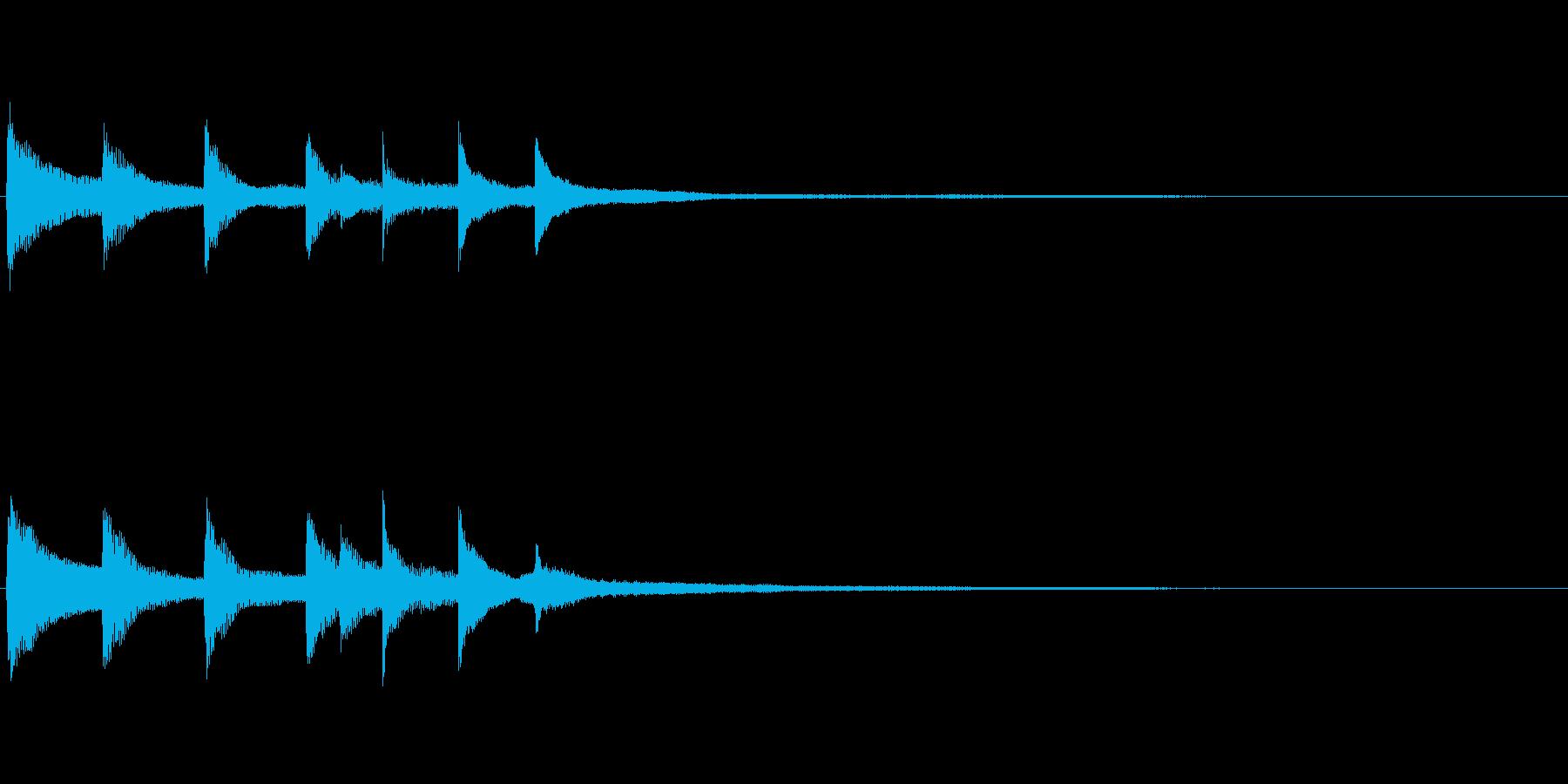 不安定、不可解、不気味なピアノソロ 05の再生済みの波形