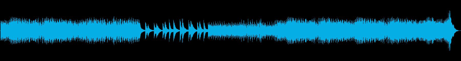 不協和音のコードとメロディーを備え...の再生済みの波形