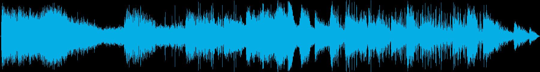 ラジオ制作シーン:オールドウェスト...の再生済みの波形
