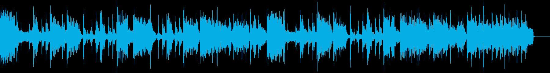 エレピを使ったジングルの再生済みの波形
