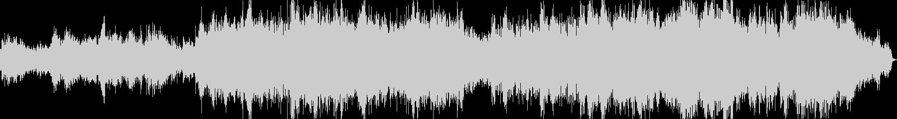 日本の音階を使ったヒーリングミュージックの未再生の波形