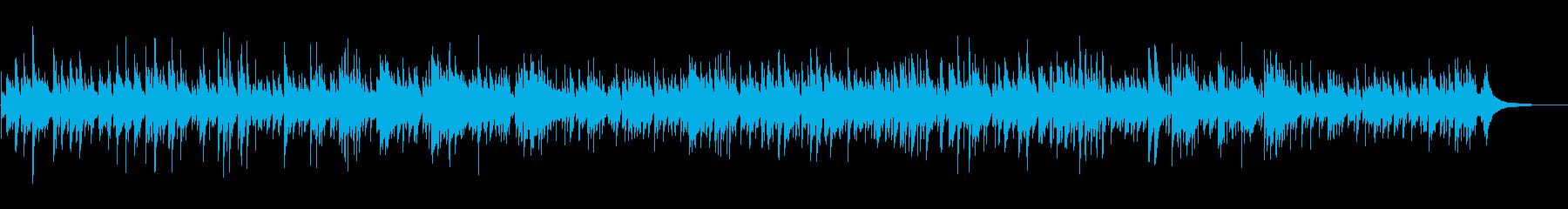 ほのぼのおしゃれボサノバの再生済みの波形