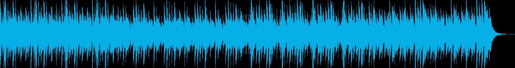 幻想的なハープのケルトミュージックの再生済みの波形