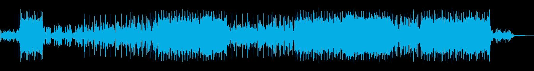 女性目線の結婚式用のバンド曲の再生済みの波形