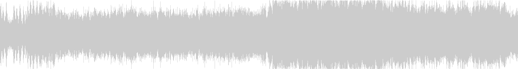 近未来なオーケストラ/テクノ ループの未再生の波形
