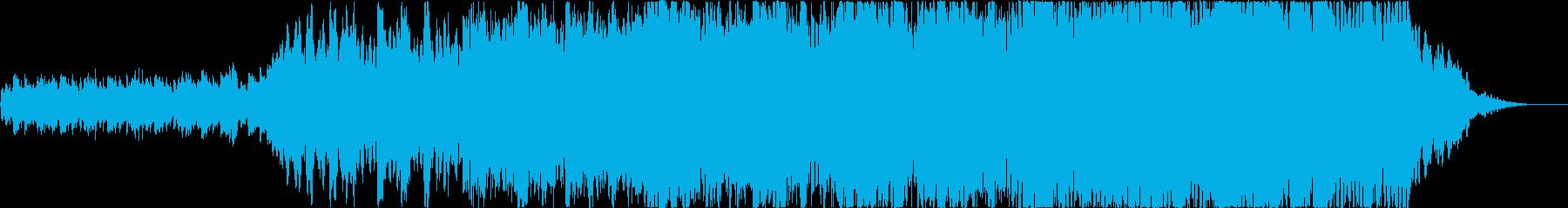 【1分】優しく感動的なポップオーケストラの再生済みの波形