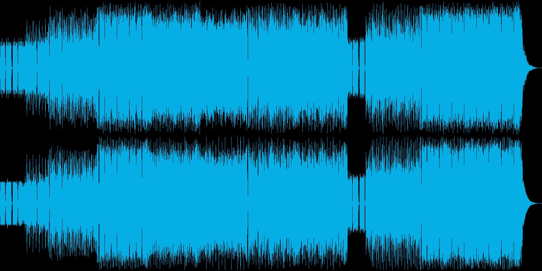 パンク メタル アクティブ 明るい...の再生済みの波形