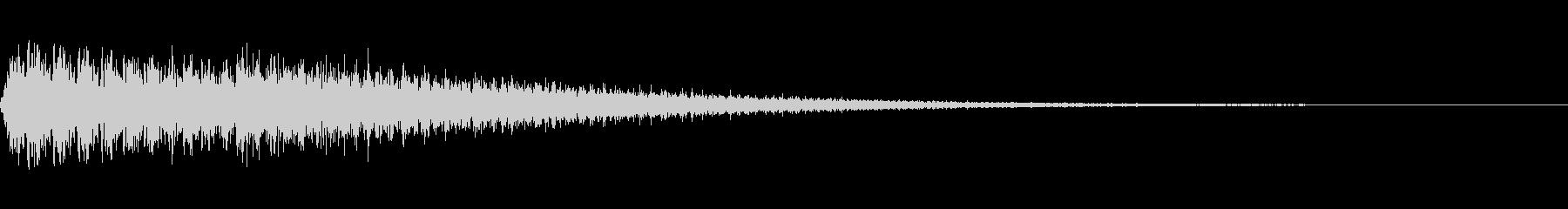 ブワンという特殊効果に使える音です。の未再生の波形