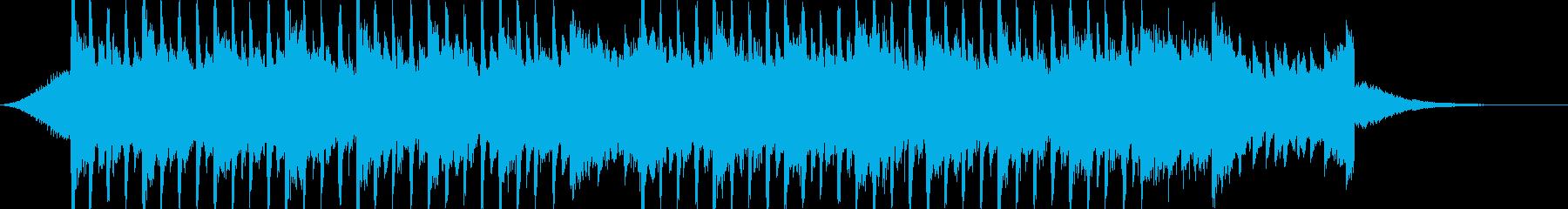 企業VP系44、爽やかギター4つ打ちcの再生済みの波形