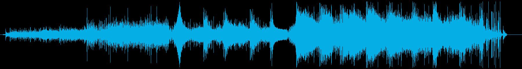 現代ミステリー風緊張感のあるアンビエントの再生済みの波形
