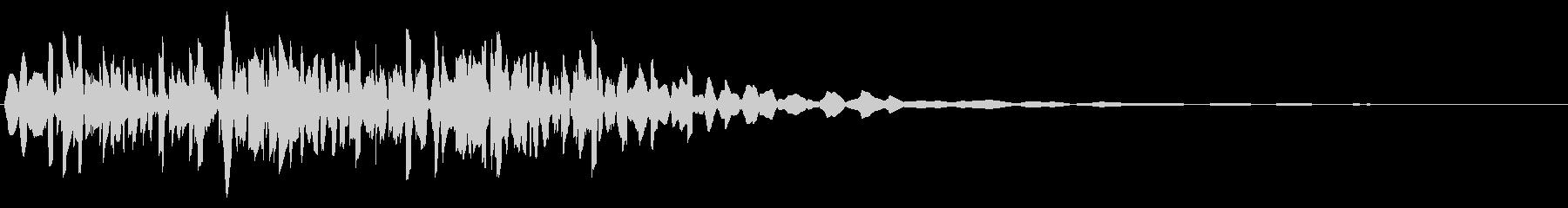 ファミコン風_ノック音2の未再生の波形