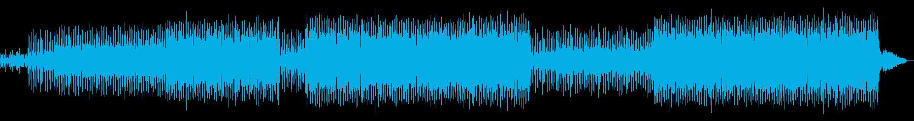 明るい雰囲気のテクノポップの再生済みの波形