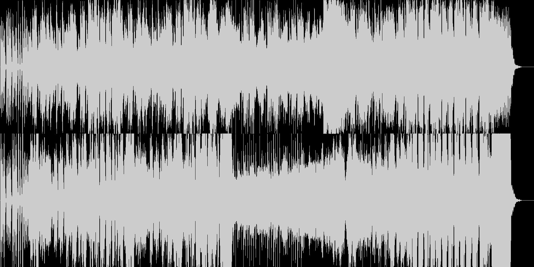 牧歌的で日常感のあるワルツの未再生の波形