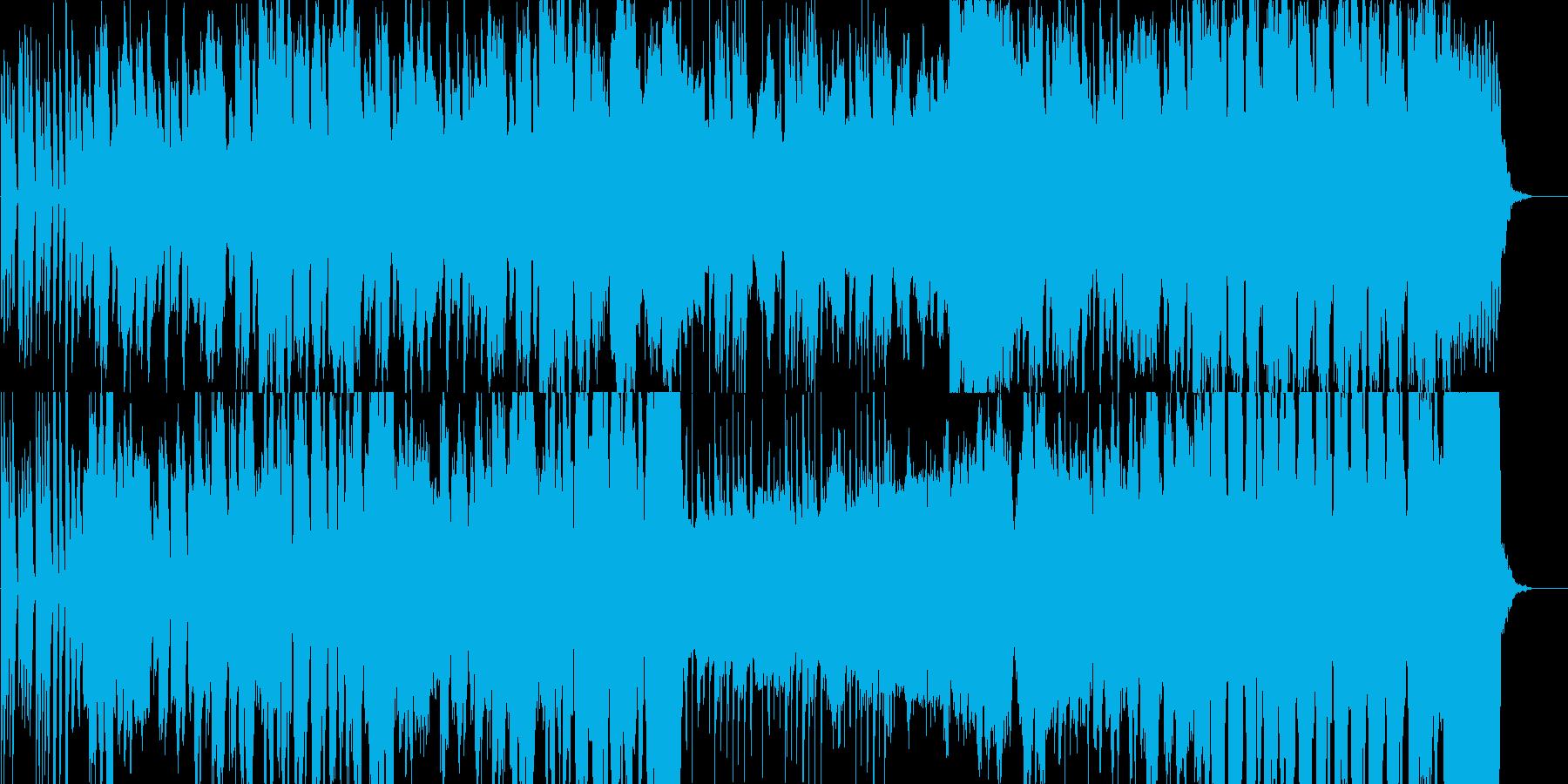 牧歌的で日常感のあるワルツの再生済みの波形