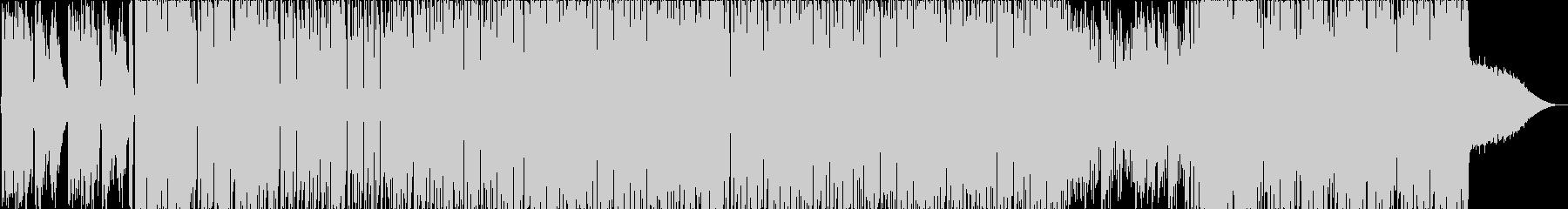 子供声のギンギンでヤンチャな音楽の未再生の波形