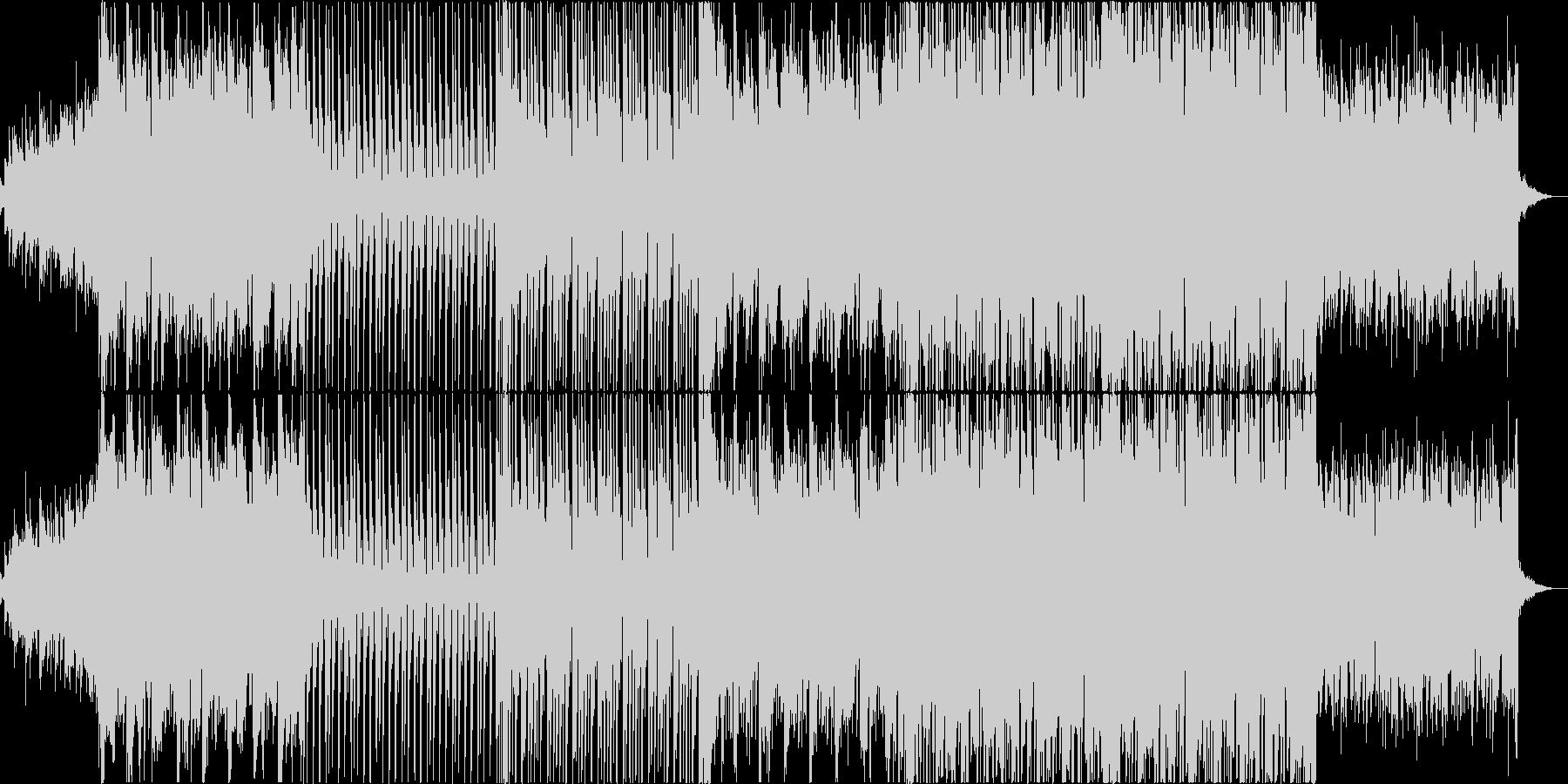 叙情的なエスニック調ポップスの未再生の波形