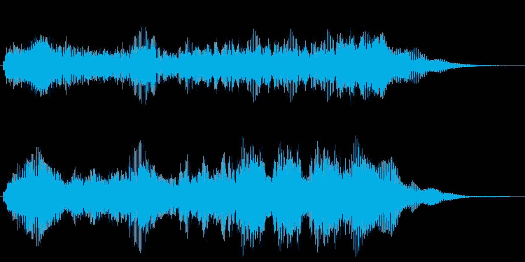 勝利のファンファーレ クリア 達成 栄光の再生済みの波形