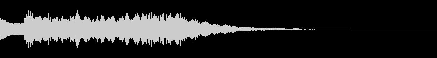 アナウンス用「ピンポンパンポン×2♪」の未再生の波形