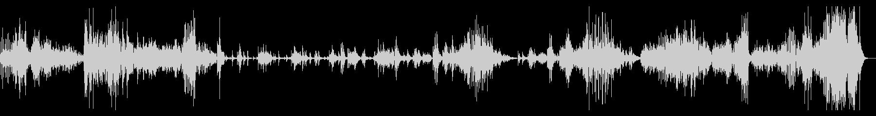 ラヴェル ピアノ組曲 - (鏡)ピエロの未再生の波形