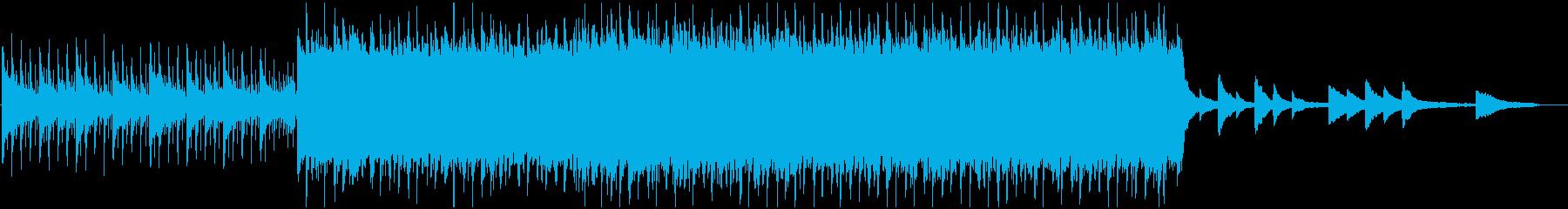 ギターを使ったオープニング系BGMの再生済みの波形