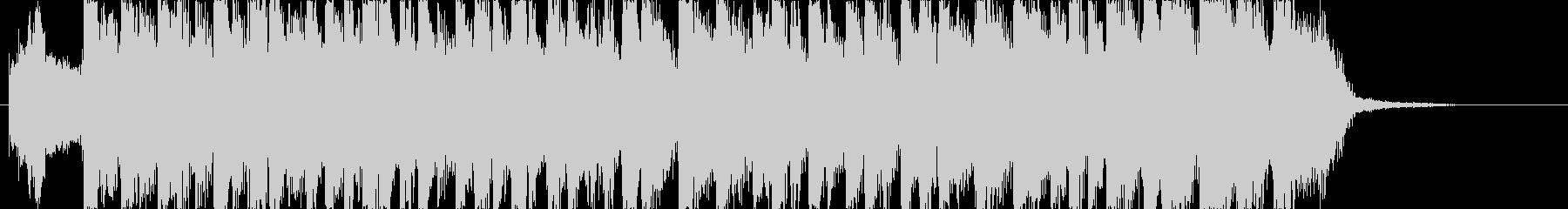 元気なかわいい雰囲気なエレクトロポップの未再生の波形